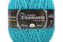 Barbantes para Tricô e Crochê: Nova Linha Diamante Premium.