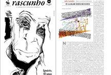 Ilustrações Jornal Rascunho / Ilustrações para o Jornal Rascunho a partir de julho 2016. Site com ilustras anteriores: de maio 2010 a maio 2016. http://yamashitafotocolagens.blogspot.com.br/