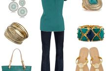 Everyday Teal and Gold