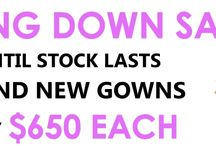 CLOSING DOWN SALE / Huge Closing Down Sale - ALL brand new bridal gowns - now only $650!!!!!!  Veils only $50 each!!!  Hurry - stocks won't last long!!! www.gorgeousgownsrus.com.au