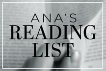 Ana's Reading List / Imagining what Anastasia Steele from Fifty Shades of Grey would have on her reading list. / by Fifty Shades of Grey