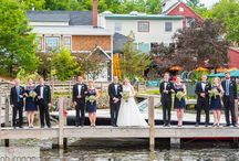 Church Landing Weddings at Mill Falls / Wedding photography + video at Church Landing Mill Falls, Meredith NH