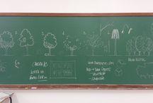 Minhas aulas - Expressão Gráfica II / Fotografias do quadro com desenhos que utilizo nas minhas aulas da disciplina de Expressão Gráfica do Curso de Arquitetura e Urbanismo da URI - Campus Santo Ângelo