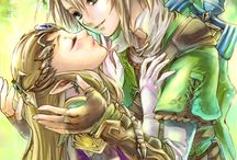 Legend of Zelda  - Princess Zelda & Link