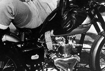 Vintage motorcycles James Dean / カッコいい‼︎