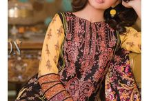 Signature Icon Embroidered Lawn Collection 2016 / Embroidered Lawn Shirt, Dyed Shalwar and Lawn Dupatta Material