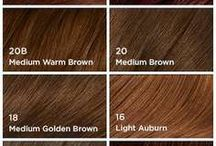 vlasy farba