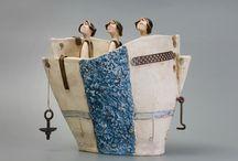 Bootjes / bootjes van keramiek