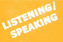 Listening/Speaking / Tips, lessons and videos on English listening and speaking. Learn English with us! www.cs.edu