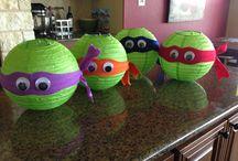 Teenage Mutant Ninja Turtle Party