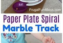 paper plates spiral