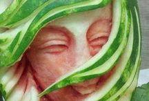 Artige grønnsaker