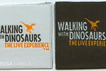 Damask High Definition Labels / Woven fabric labels support damask as the perfect choice for most clothing labels.