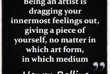 Artist, being a