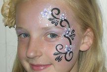 schoolcarnaval schminken