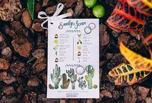 Farm wedding / Emily & Sean's wonderful farm wedding!  Wedding coordination: Amy Abbott Events | Mag & B Photography | Venue: Mango Grove at Flora Farms Featured on Style Me Pretty http://www.stylemepretty.com/destination-weddings/2016/05/12/married-on-a-floral-farm-total-venue-envy/