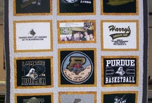 Tshirt Quilts / T-shirt quilts are a wonderful way to preserve memories.  They are excellent graduation gifts !! If you need a t-shirt quilt made or quilted, contact me.  I am taking reservations for Graduation 2014 quilts now.