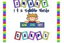 Primary Reading- Sort Syllables/Word Parts / by Natalie Davis