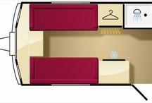 Camper Floor Plans