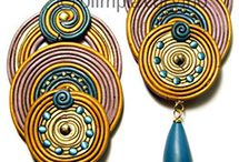 SOUTACHE. Earrings / by Jolezz