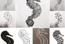 Nastya Bugak's works / Иллюстрации, эскизы, фэшн-иллюстрации, скетчбук, модели, макеты, черная одежда. Illustrations, scetches, fashion-illustrations, sketchbook, models, cotton models, black cotton.