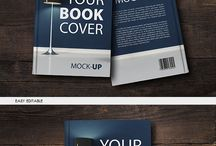 https://creativemarket.com/attraax/203074-Book-Cover-Mock-UP / Book Cover Mock-Up