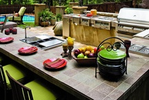 It's a Mans World / basement, outdoor kitchens / by Tom Gray