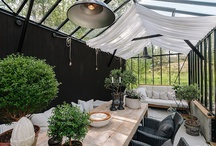 Orangery/Greenhouse / Inspiration for my new orangery