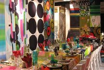 retro dinner party (look and feel)