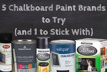 Chalkboard Paint / by Heather Corson