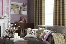 Tartan / Curtains and Throws in gorgeous Tartan Prints!