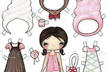 Paper Dolls  / by Andrea Messinger Dalton