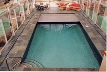 C&L Stainless Steel Pool Photos / Custom manufactured stainless wall - concrete bottom pools.