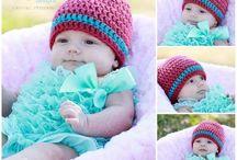 Crochet-HATS, BEANIES,MITTENS