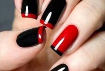 Nails for Red dress