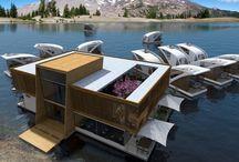 úszó ház