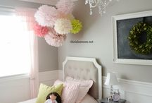 LIL Girls room decor / by Cecilia Medina-Torres