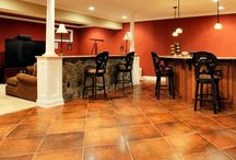 Basement or rec room ideas / by Lindsay Torti