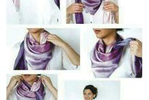 Scarf nice and easy to do