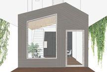 Huis J / Verbouwing van een rijwoning / renovation of a small house