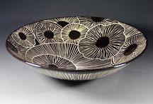 esgrafiado en cerámica