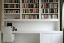 Bureau & boekenkast