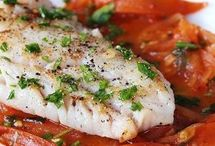 vis met wittewijn