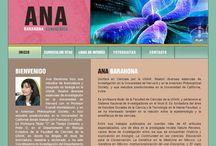 """Ana Barahona / http://anabarahona.com/ Destacado del proyecto: Ajustarnos a lo limitado de un presupuesto, personalizando un """"template"""", pero generando animaciones en Flash, que causarán un mayor impacto al público objetivo."""