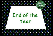 End of the Year / End of the school year resources for the elementary classroom