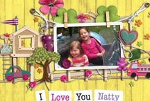 I Love You Natty Book / Big sister Mia writes a first introduction to Down's syndrome for all children.