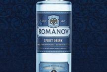 Romanov Dynasty Edition. Spirit Drinks