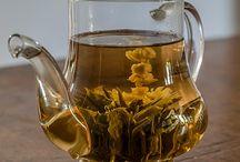 Tipos de té / Diferentes tipos de té.