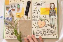 inspiration sketchbook / Art