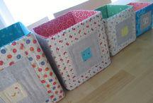 fabric boxs